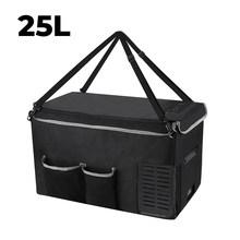 Joytutus 18L автомобильная сумка для хранения холодильника 25L Портативная сумка для переноски мини холодильника, сохраняющая охлаждение, защита ...(Китай)