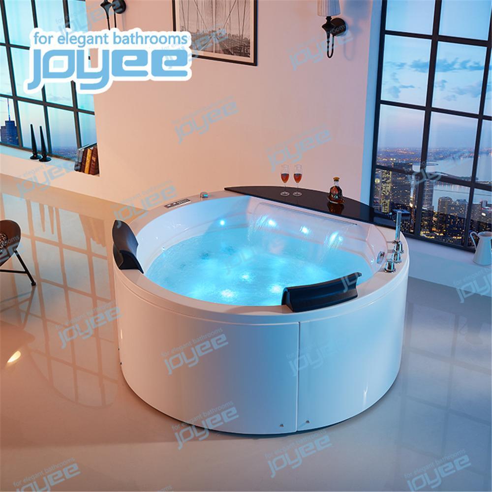 Jacuzzi Whirlpool Bath Jacuzzi.Joyee Freestanding Round Hot Tub Acrylic Spa Whirlpool Bathtub For 2 Person Buy Whirlpool Bathtub Freestanding Round Hot Tub Massage Bathtub Price