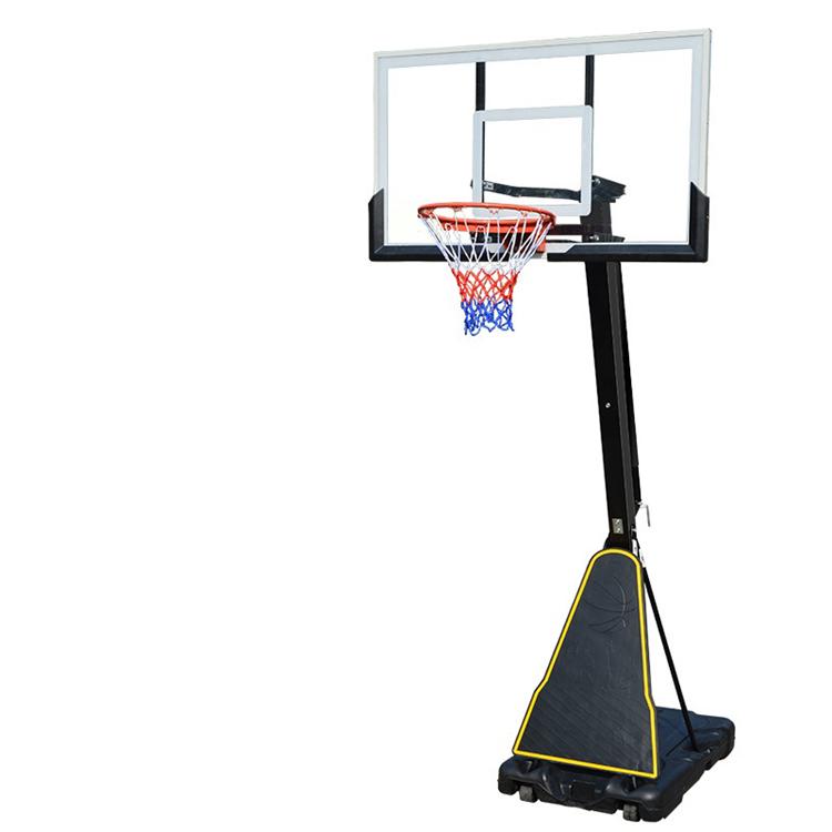 Пластик Регулируемая игрушка обруч портативный баскетбол стенд Крытый баскетбол стенд