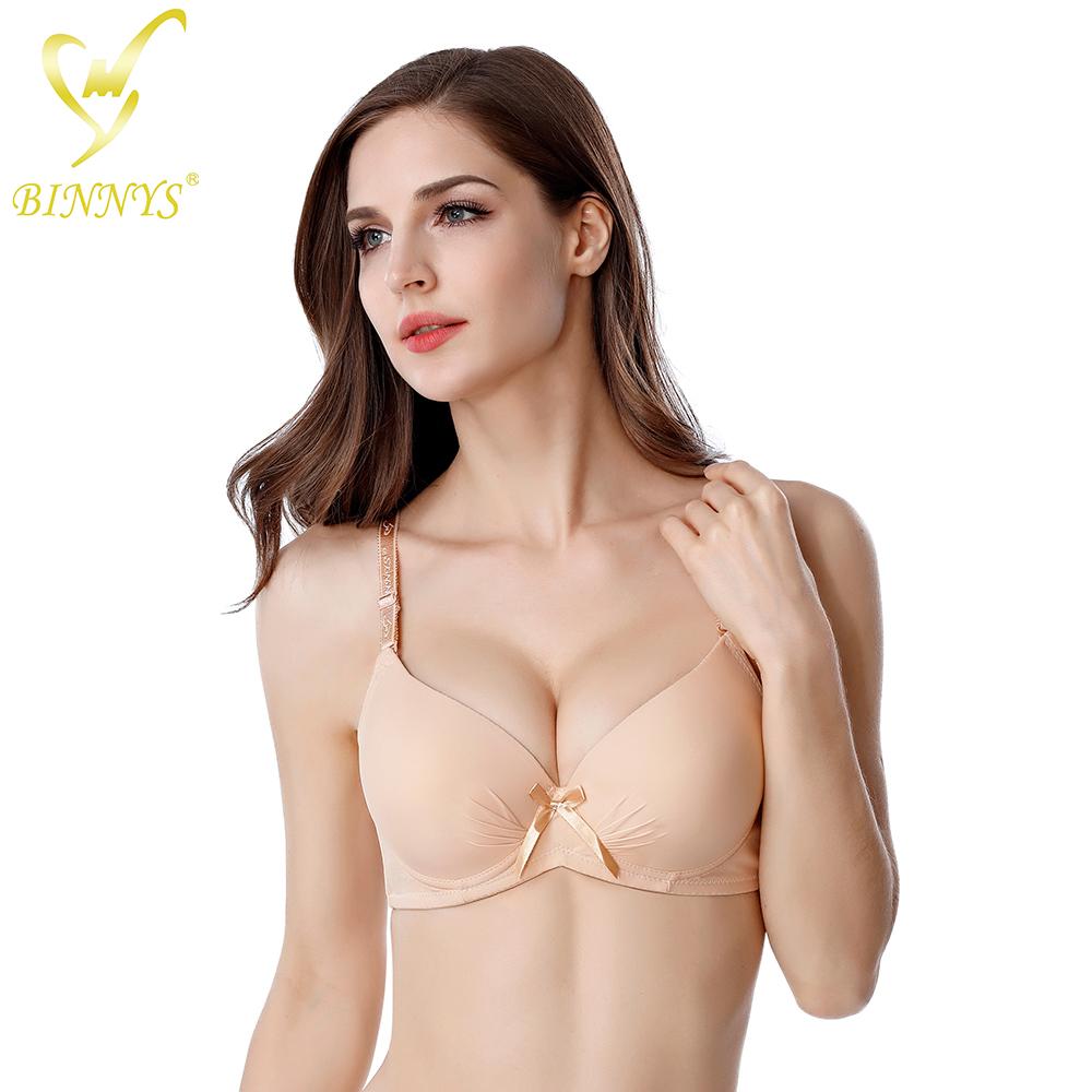 BINNYS hot selling wholesale padded push up bra of 36 size