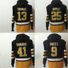 Custom #9 Drew Brees #13 Michael Thomas #25 Eli Apple #41 Alvin Kamara Style Jersey American Football Sweater Winter Hoodie