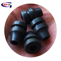 taper cable sealing high temperature angled electrical rubber grommet for cables