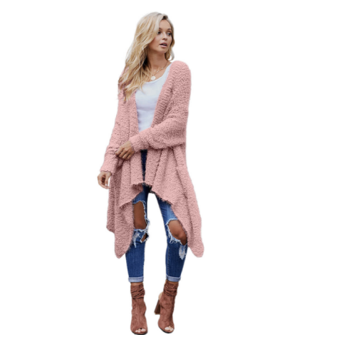 High Quality Long Loose winter sweater Cardigan