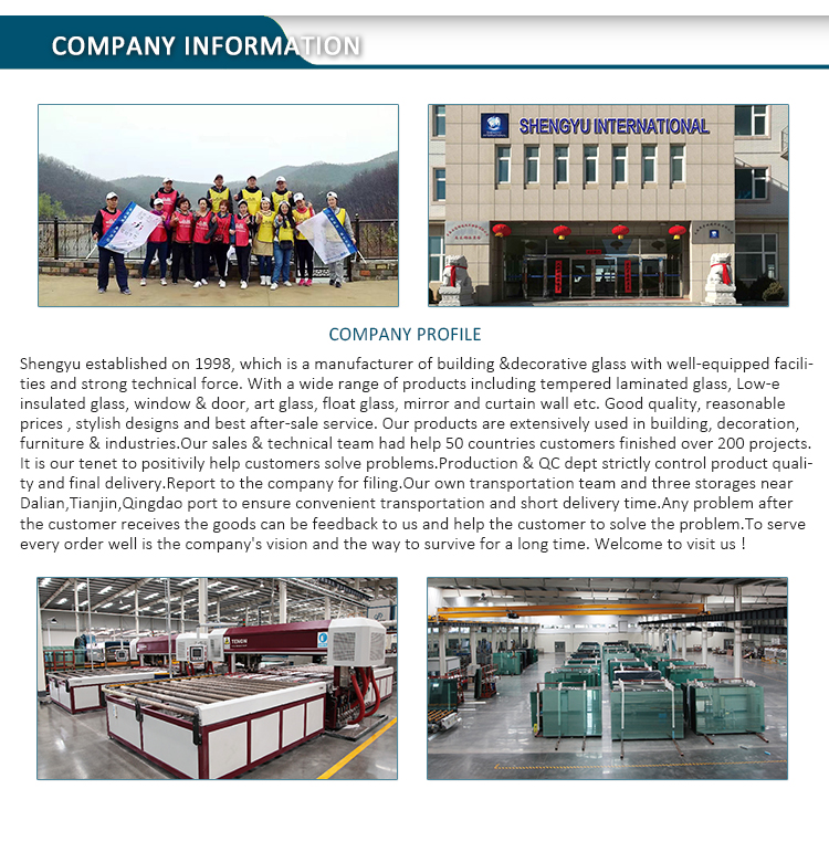 Clear Float Glass factory in china