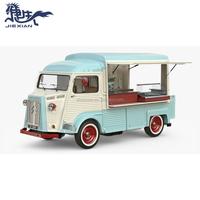 JX-BT450CT New street food vending cart / electric vintage VW citroen food truck / mobile food trailer for sale