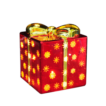 Wholesale Battery Operated Red Glass Decorative Christmas Gift Boxes With Led Light Buy Lighted Glass Box For Christmas Small Glass Box Christmas Gift Box Product On Alibaba Com