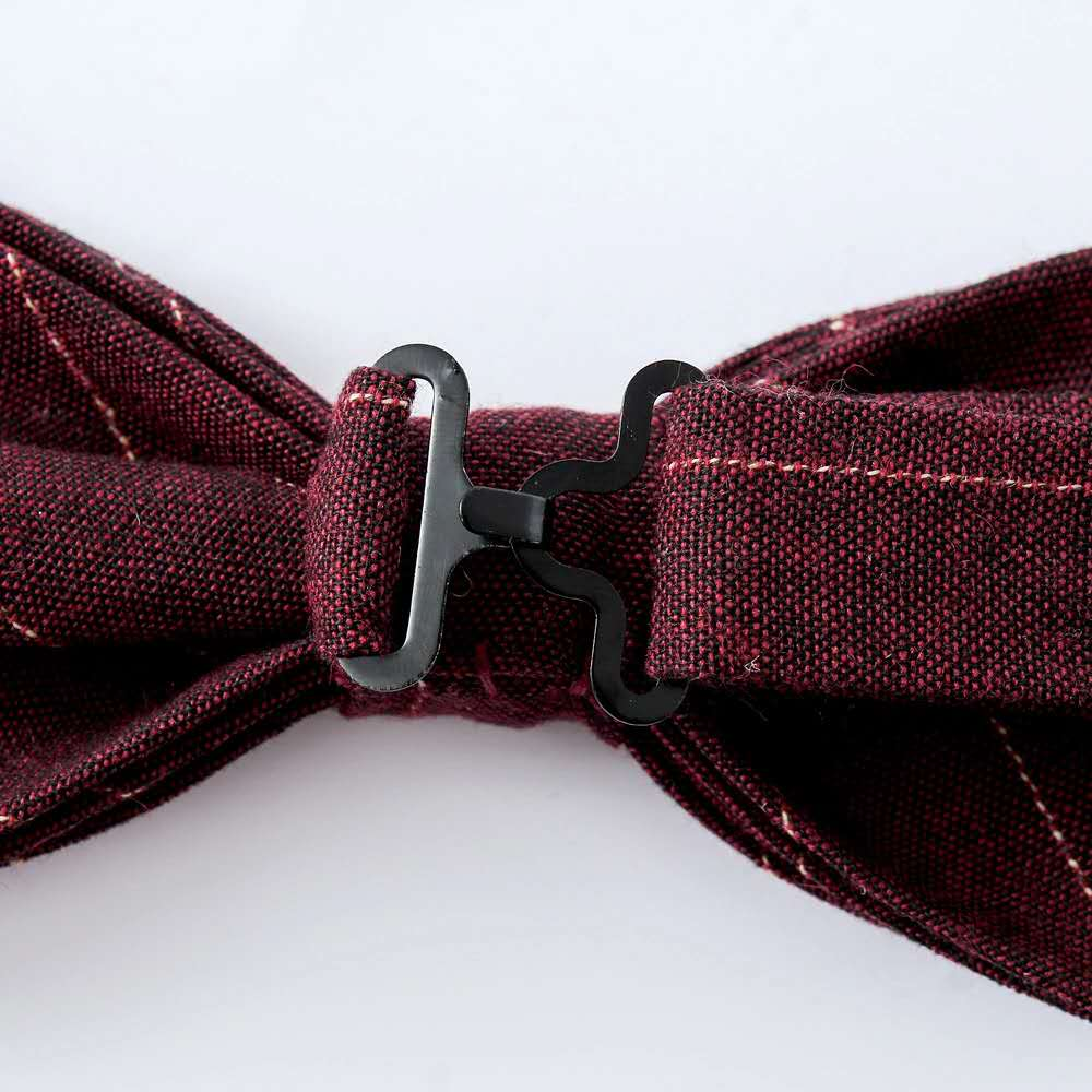 High Quality Cotton Bow tie Wholesale Cheap Price Plain Color Bow tie