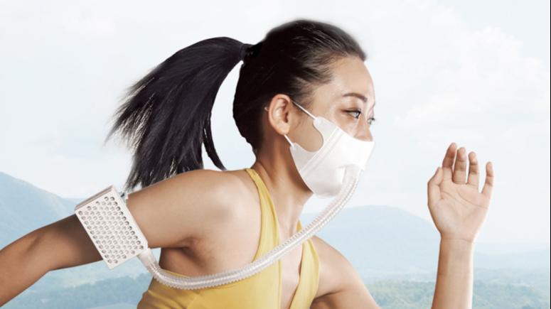 Taşınabilir giyilebilir kolay akış kişisel hava filtreleme h13 HEPA hava temizleyici