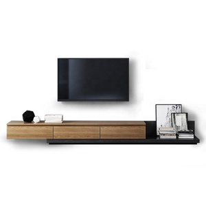 Modern furniture design simple wooden cabinet stand tv stands table for living room
