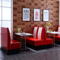 (SP-KS269) Factory custom high quality american diner Retro diner furniture