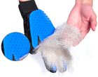Efficient Cleaning Tool deshedding grooming brush rubber mitt silicone hair fur removal bath pet Animal Dog Cat glove