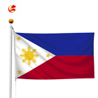 polyester all country national day custom the philippines country flag
