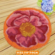 Набор крючков для вязания улиток, настенный гобелен для вязания, Набор для вышивания диванов, домашний декор, напольный коврик для рукодели...(Китай)