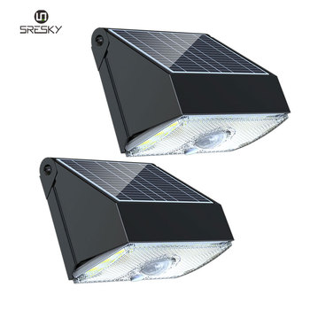 Outdoor leds motion sensor night light solar cell lamp for garden