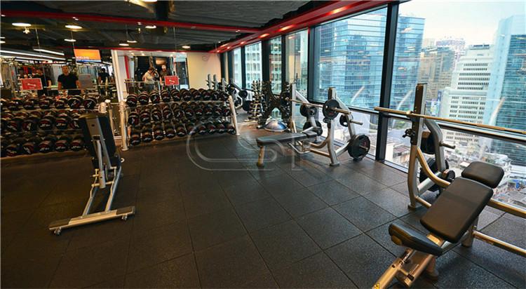 Olahraga Digunakan Gym Lantai Karet Digunakan Tikar untuk Dijual