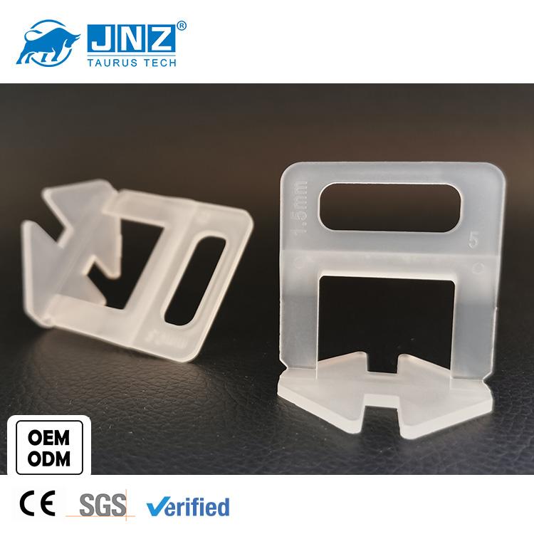 JNZ-TA-TLS-B 1mm 2mm 3mm reusable floor  tile clips leveling system manufacturer