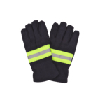 fire resistant flight fire man safety gloves work use