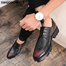 Мужские классические туфли из крокодиловой кожи; Деловые туфли для мужчин; Вечерние модельные туфли; Белые дизайнерские мужские официальны...(Китай)