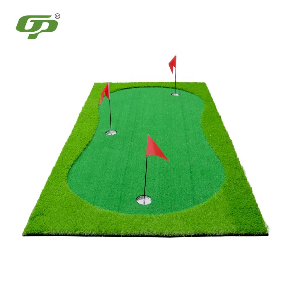 GP All'aperto Mini Campo Da Golf Golf Putting Tappeto Erboso Tappeto Tappeti wigh Golf Bandiera Tazza Set