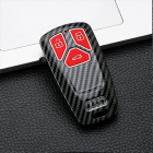 New Fashion Car New Fashion Silicone Car Key Cover For Audi A4L /A4 /TT /A5 /Q7 /TTS ABS Double Car Key Bag