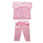 Uniform Uniform High Quality Uniform Suit Set Medical Hospital Nurse Disposable Scrub Suits