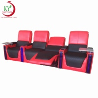 JKY Furniture VIP Cinema Reclining Electric Home Theater Sofa For Commercial Furniture
