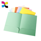 a4 size fancy paper blue red colorful folder wholesales