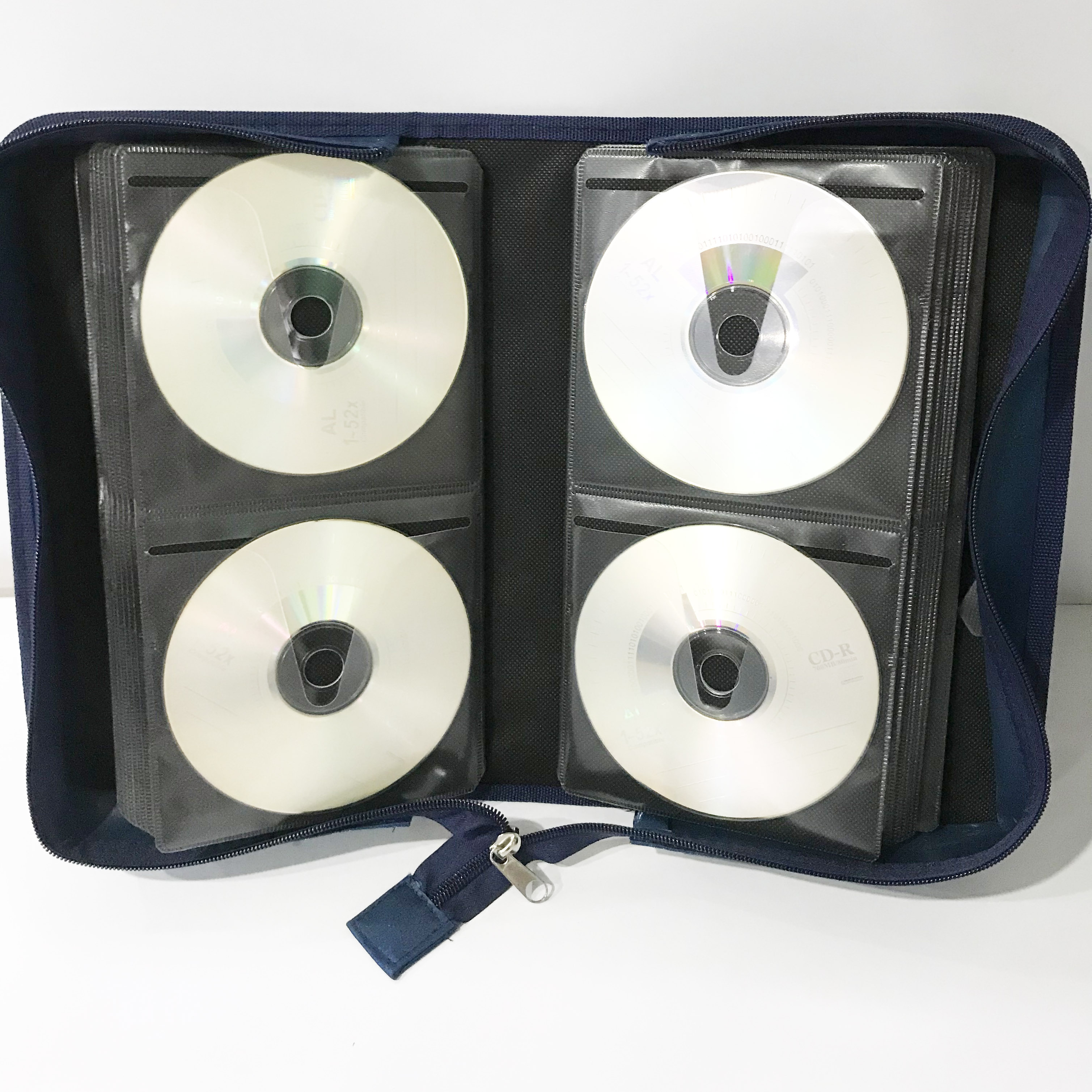 Hot selling cd wallet style for 128CDs IN Amazon