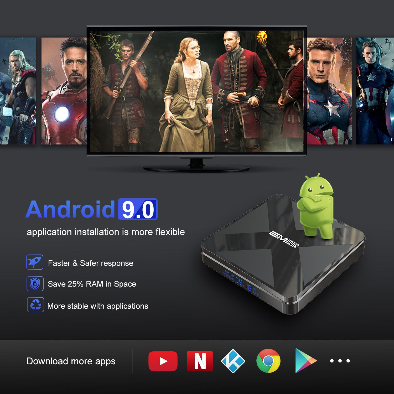 새로운 도착 무료 인터넷 HD 라이브 TV 상자 구글 플레이 스토어 다운로드 안드로이드 TV 박스
