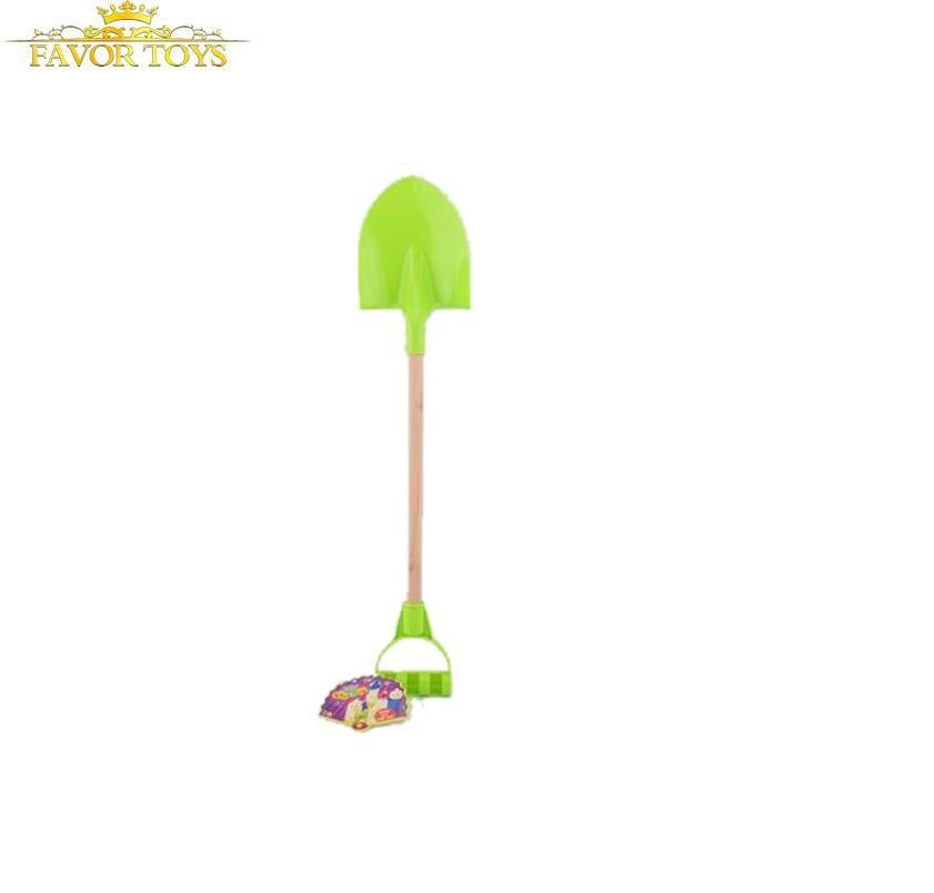 <strong>Kid</strong> <strong>Toy</strong> <strong>Outdoor</strong> Summer Sand Wooden Handle Shovel Beach <strong>Toys</strong>