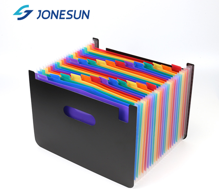 ODM OEM storage box case document organizer 24 pockets colorful expanding file folder for office supplies