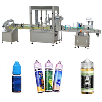10ml 30ml 60ml E-Liquid Filling Capping Machine bottling line for vape
