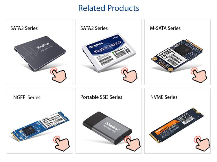 Kingdian Hard Disk Ssd Solid State Drive Ssd Da 2.5 Hard Disk 128GB 256GB 512GB Sata3 Custodia In Plastica per Desktop / Laptop /Sever