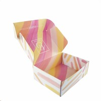 Custom Folding 4 Color Printing Corrugated Store Mailing Packaging Boxes