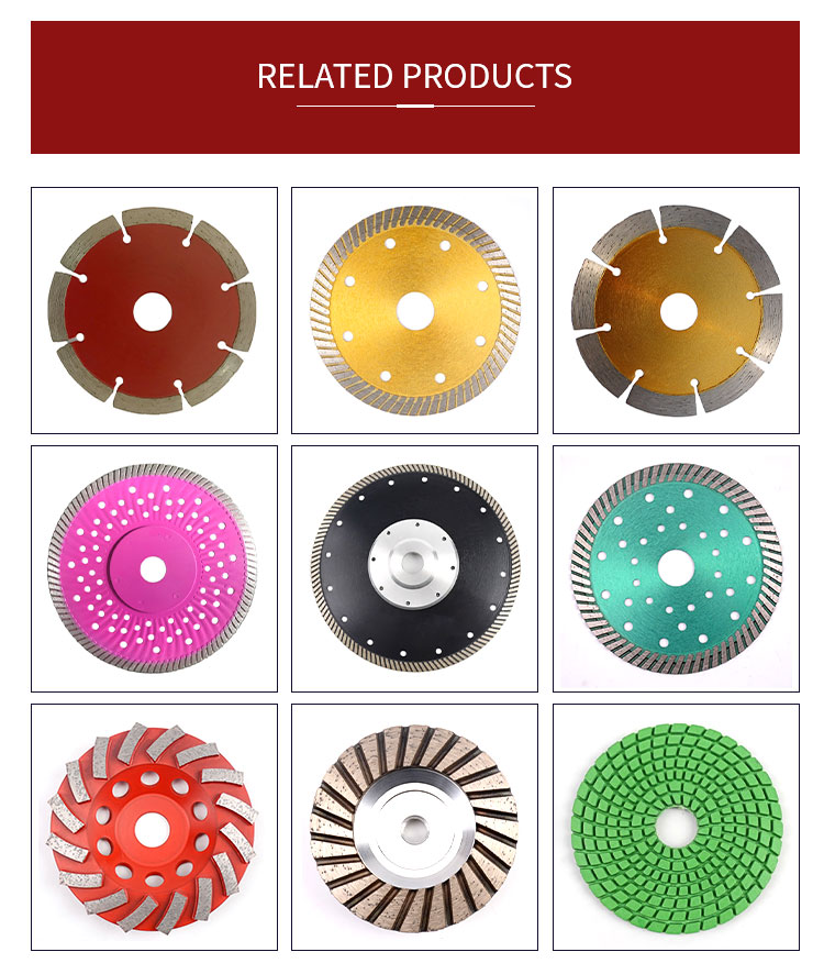China Factory Direct Sale Diamond Saw Blade Marble