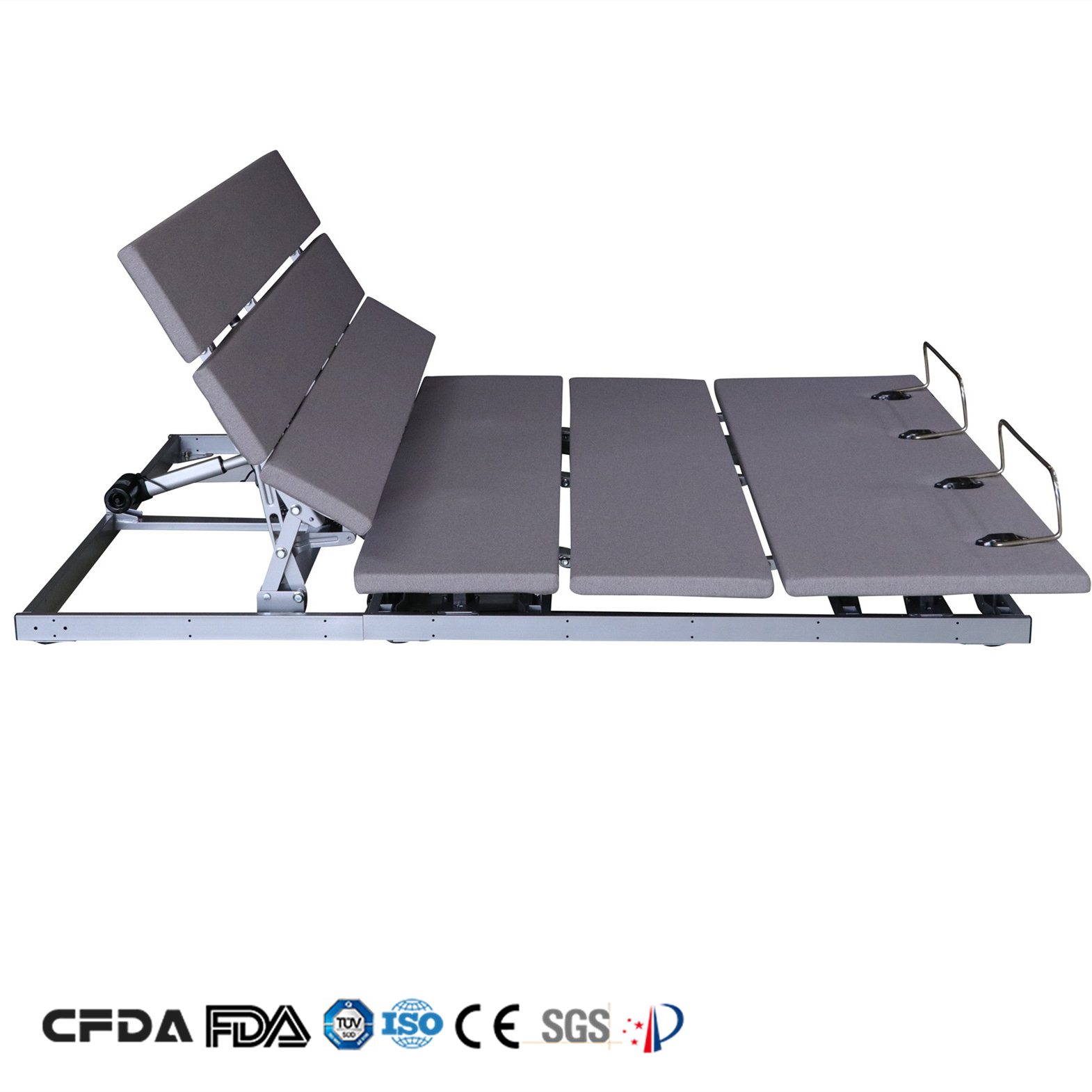 Free Design L040 multi function tv reading luxury metal modern hotel bed frame for sale