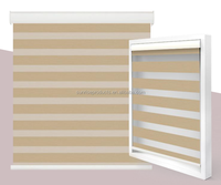 outside electric blind wooden louvre zebra shades