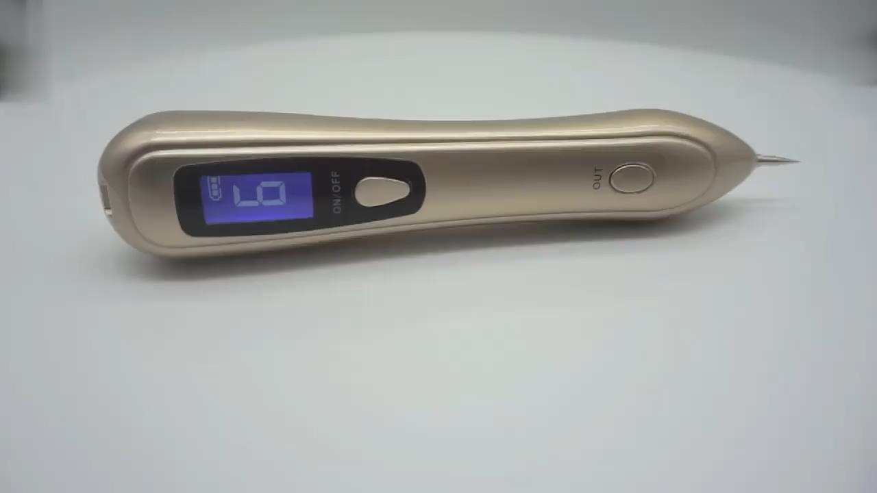 Buona qualità nove livelli di plasma face lift bellezza mole penna di rimozione