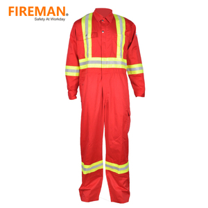 comfortable 100 cotton fire resistant coverall industrial fire retardant coverall