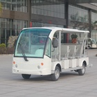 Bus Electric Sightseeing Bus Sightseeing Transportation Electric Tourist Shuttle Bus For Sale