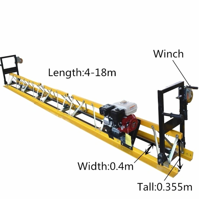 Concrete Vibrating Truss Screed Floor Leveling Machine with Honda Gx270