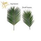 Wholesale artificial plant palm tree leaves wedding party decoration with large leaves