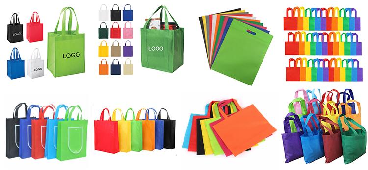 Новый Пользовательский логотип красочные bolsas ecologicas tote хозяйственная переработанная Нетканая сумка для переноски