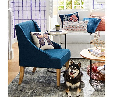 Home Good Accent Chair Modern Fabric Wood Arm Armchair Design