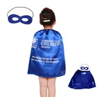 Kids Dress Up Costume Boys and Girls Role Play Party Superhero Capes and Masks