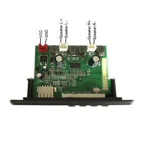 JK6838BT FM radio Bluetooth MP3 decoder board audio decoder module with  Amplifier 10W x2 channels
