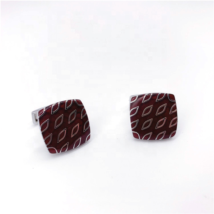 China <strong>custom</strong> fashion loy wedding <strong>cufflinks</strong> <strong>engraved</strong> jewelry gift square <strong>cufflinks</strong>