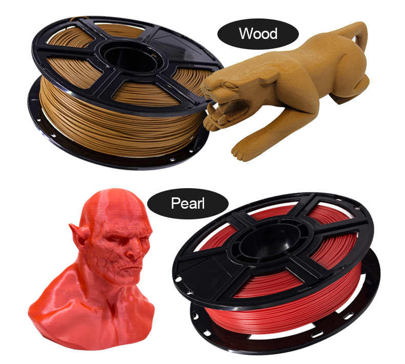 Flashforge 3D Drucker Filament 1kg Spool 1,75mm PLA + Filament