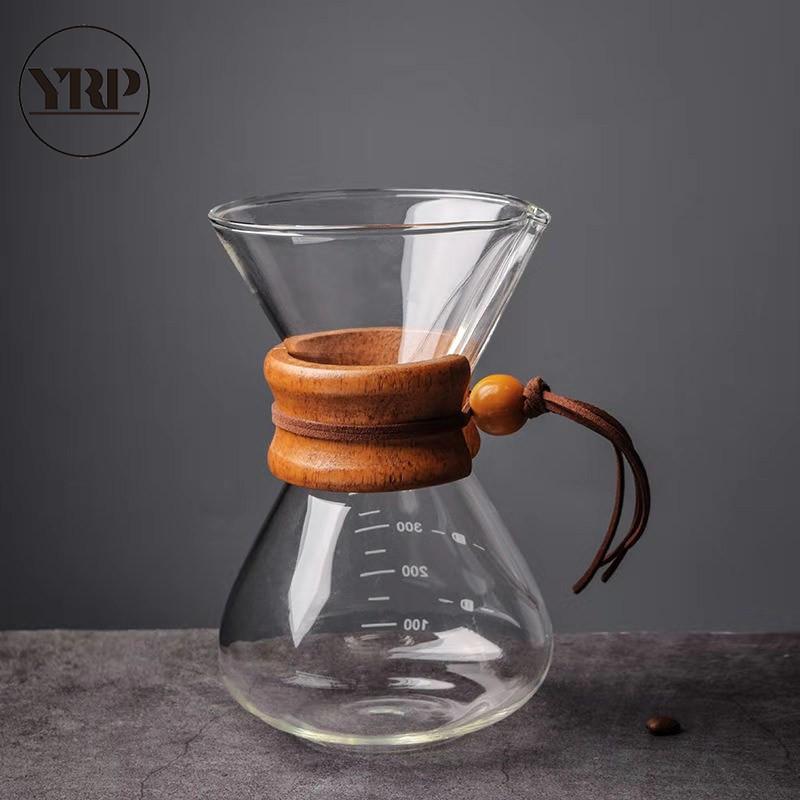 Для напитков горшок для заваривания кофе бариста классическое Стекло Чайник многоразовый эспрессо Перколятор залейте прибор, кухонные при...(Китай)