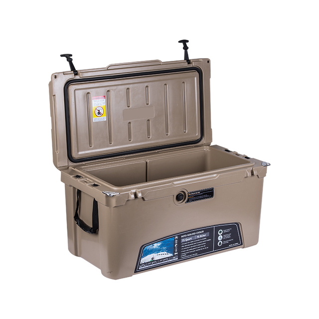 polyurethane foam LLDPE Plastic insulated eski cooler box Wholesale Roto Molded Coolers ice box for summer